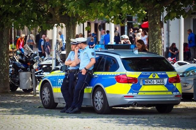 Foto Duitse politie