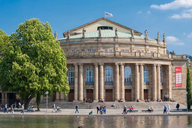 Hier is de lucht in Stuttgart toch behoorlijk blauw